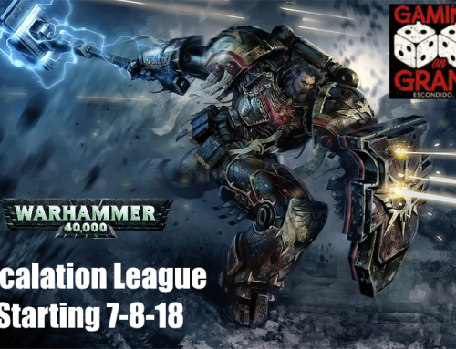 Warhammer 40k League Now On, Join Today!