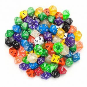 Dice (all categories)